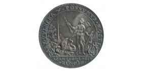 Jeton Tir et Arquebuse Chevaliers de l'Arc Argent