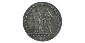 Jeton Eglise Saint Gervais et Saint Protais Louis XV Argent