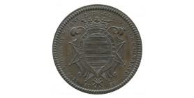 Jeton Noblesse Lefèvre de Caumartin Paris Bronze