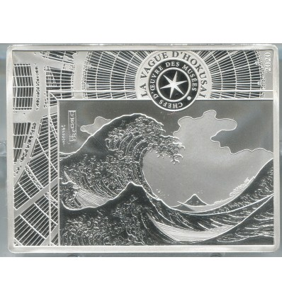 10 Euros Hokusai 2020 BE