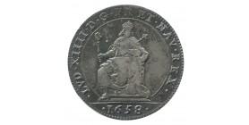 Jeton Chambre aux Deniers Revenans Bons Louis XIV Argent