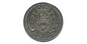 Jeton Corporation Marchands d'Etoffes d'Or d'Argent et de Soie Louis XV Argent