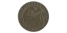 Jeton Bourgogne E.Piretouy Receveur des Tailles d'Auxerre Cuivre