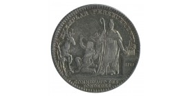 Jeton Corporation Communauté des Fondeurs Louis XV Argent