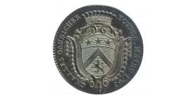 Jeton Noblesse d'Anjou Charles Gaudicher Maire d'Angers Argent