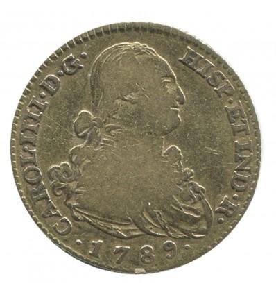 2 Escudos Charles IV - Espagne
