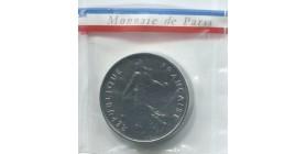 5 Francs Semeuse Piéfort En Nickel