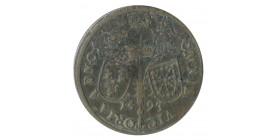 Jeton Toute Victoire Vient du Seigneur Henri IV Laiton