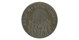 Jeton Corps des Marchands Reums Louis XIV Cuivre
