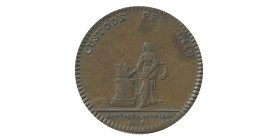 Jeton Parties et Revenus Casuels Louis XV Cuivre
