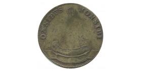 Jeton Omnibus Non Sibi Louis XVI Laiton