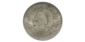 5 Pesos - Mexique Argent