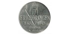 25 Couronnes - Norvège Argent