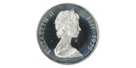 25 Dollars Elisabeth II - Iles Fidji Argent