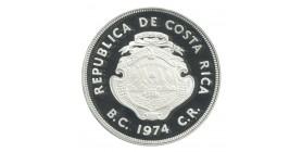 100 Colones - Costa Rica Argent