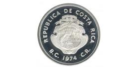 50 Colones - Costa Rica Argent