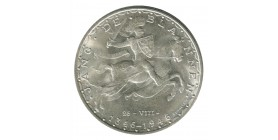 100 Francs  Prince Jean - Luxembourg Argent