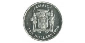 10 Dollars Jamaïque Argent