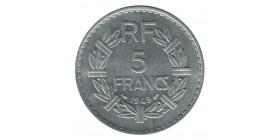 5 Francs Lavrillier Aluminium