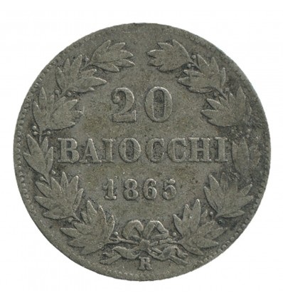 20 Baiocchi Pie IX - Vatican Argent