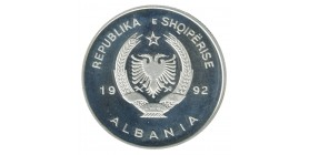 10 Leke - Albanie Argent