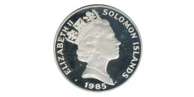 5 Dollars Elisabeth II - Iles Salomon Argent