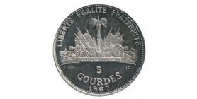 5 Gourdes Haïti Argent