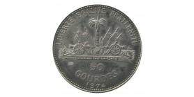 50 Gourdes Haïti Argent