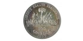 100 Gourdes Haïti Argent