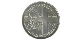 50 Pence Elisabeth II - Iles Falkland Argent