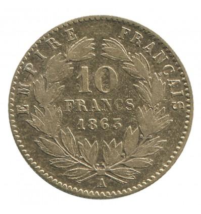 10 Francs Napoléon III Tête Laurée