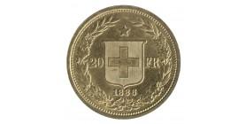 20 Francs Helvetia - Suisse