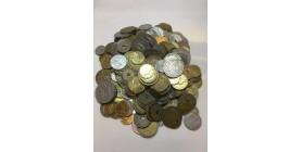 1kg Monnaies Françaises XXe Siècle en Vrac