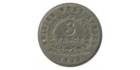 3 Pence Georges VI - Afrique de l'Ouest Britannique