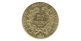 20 Francs Cérès Seconde République