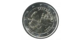 2 Euros Commémorative St Marin 2020