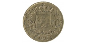 20 Francs Charles X