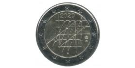 2 Euros Commémoratives Finlande 2020