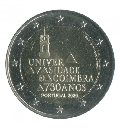 2 Euros Commémoratives Portugal 2020