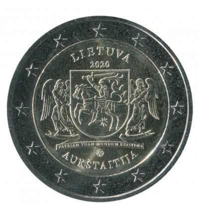 2 Euros Commémorative Lituanie 2020