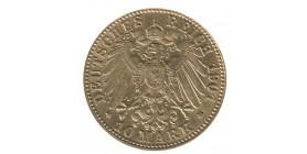 10 Marks Guillaume II - Allemagne Prusse