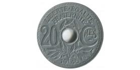 20 Centimes Lindauer Gouvernement Provisoire