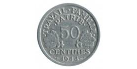 50 Centimes Bazor Aluminium Etat Français