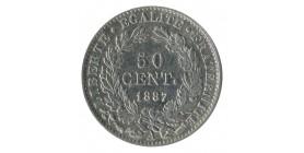 50 Centimes Cérès Troisième République