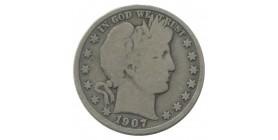 1/2 Dollar Barber - Etats-Unis Argent