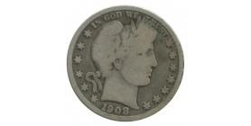 1/2 Dollar Barber- Etats-Unis Argent
