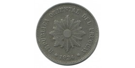 5 Centimes Uruguay Argent