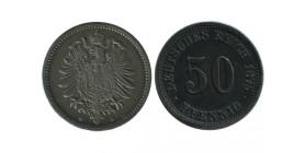 50 Pfennig Allemagne Argent