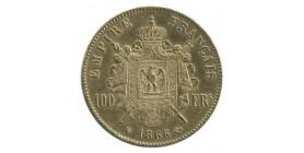 100 Francs Napoléon III Tête Laurée