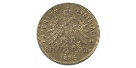 8 Florins / 20 Francs François Joseph Ier - Autriche